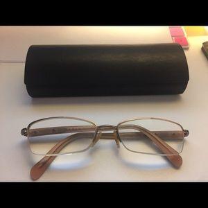 Near-mint Prada Half-Rimless eyeglass frames
